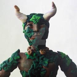 Green Man - detail
