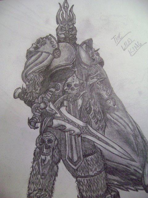 Arthas, the Lich King by Zanatothemax