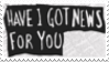 Have I Got News For You Stamp by laprasking