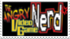 Angry Video Game Nerd Stamp by laprasking