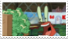 Mr Krabs + MONEY Stamp by laprasking