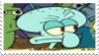 Squidward Tentacles Stamp by laprasking