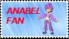 Anabel Fan Stamp by laprasking