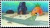 Spongebob's Street Stamp by laprasking