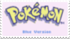 Pokemon Blue Stamp by laprasking