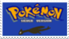 Pokemon Silver Stamp by laprasking