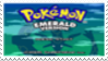 Pokemon Emerald Stamp by laprasking