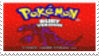 Pokemon Ruby Stamp by laprasking
