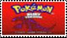 Pokemon Ruby Stamp by laprasking