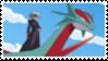 J + Salamence Stamp