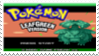 Pokemon Leaf Green Stamp by laprasking