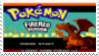 Pokemon Fire Red Stamp by laprasking