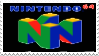 N64 Stamp by laprasking