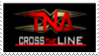 TNA Cross the Line Stamp by laprasking