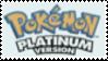 Pokemon Platinum Stamp by laprasking