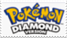 Pokemon Diamond Stamp by laprasking