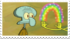 Squidward Imagination Stamp by laprasking