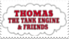 Thomas The Tank Engine Stamp by laprasking