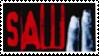 Saw II Stamp by laprasking
