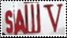 Saw V Stamp by laprasking