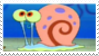 Gary the Snail Stamp by laprasking