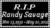 R.I.P Macho Man Randy Savage by laprasking