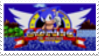 Sonic the Hedgehog Stamp by laprasking
