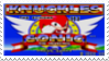 Knuckles in Sonic 2 Stamp