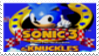 Sonic 3 and Knuckles Stamp by laprasking