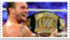 CM Punk Stamp by laprasking