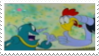 The S.S.S.S.S Squad Stamp by laprasking