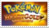 Pokemon Heart Gold Stamp by laprasking