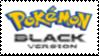 Pokemon Black Stamp by laprasking