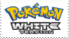 Pokemon White Stamp by laprasking