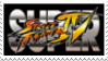 Super Street Fighter IV Stamp