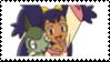 Iris + Axew Stamp by laprasking