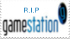 R.I.P Gamestation Stamp by laprasking