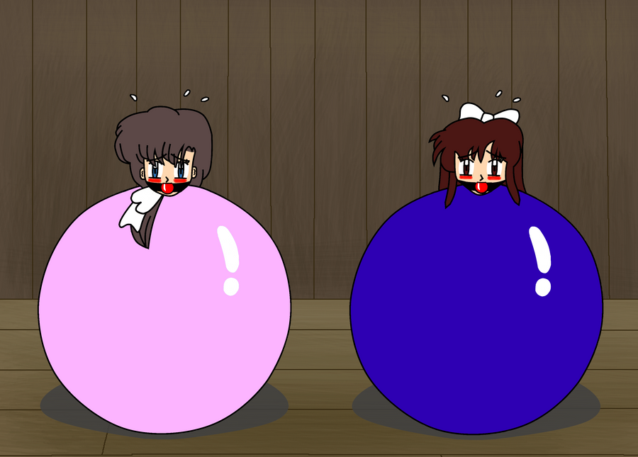 Didnt take these girls (Ranma's Kasumi and Ukyo) too long to fall into ...