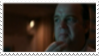 Evil Popcorn Guy Stamp by laprasking