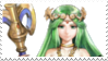 Lady Palutena Stamp by laprasking