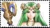 Lady Palutena Stamp by laprasking