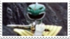 Green Ranger + Dragon Dagger Stamp by laprasking