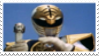 White Ranger + Saba Stamp by laprasking
