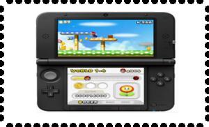 Nintendo 3DS XL Stamp 2 by laprasking