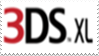 Nintendo 3DS XL Logo Stamp by laprasking