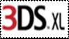 Nintendo 3DS XL Logo Stamp by laprasking