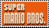 Super Mario Bros Stamp