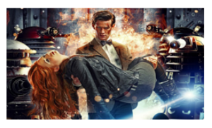 Asylum of the Daleks Stamp by laprasking