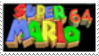 Super Mario 64 Stamp by laprasking