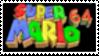 Super Mario 64 Stamp by laprasking